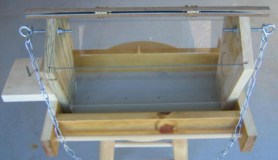 made pipe out supplies needed pin plans pvc feeder of for simple gravity