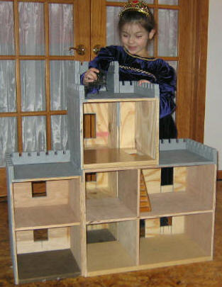 Download doll house plans by DollHouseDesigns.COM