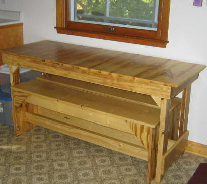 Free Kitchen Table Plans - Free Trestle Table Plans - How to Build A ...