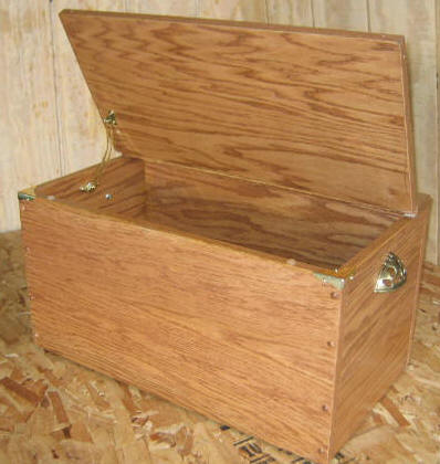 Free Toy Box Plans - How To Build A Wooden Toy Box