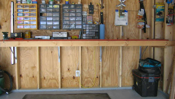 Woodwork Garage Bench Plans PDF Plans – Garage Work Bench Plans