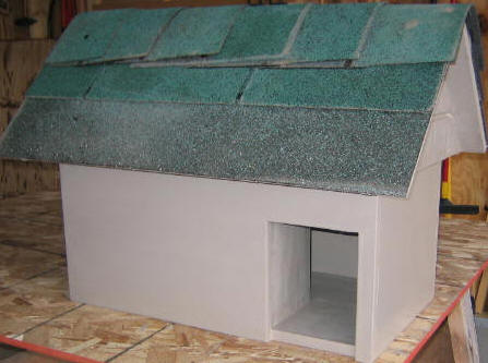 Free Cat House Plans How To Build A Cat House